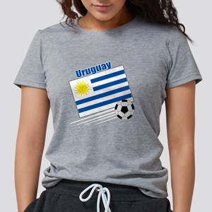 Uruguay Soccer Team Womens Tri-blend T-Shirt
